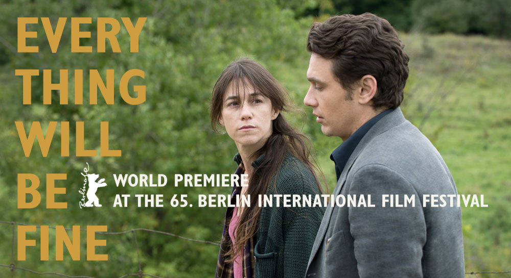 Every Thing Will Be Fine - World Premiere at the 65. Berlin International Film Festival