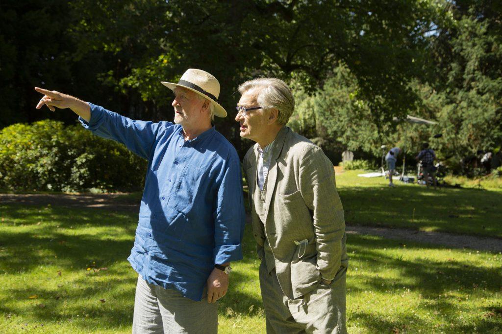 Peter Zumthor und Wim Wenders / © Pati Grabowicz